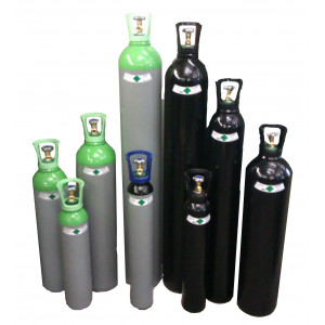 Leje af 37,5 kg CO2 Cylinder